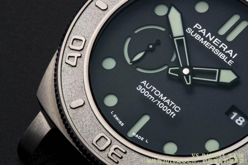 VS厂沛纳海PAM984迈克霍恩版硬汉必入的一款腕表!