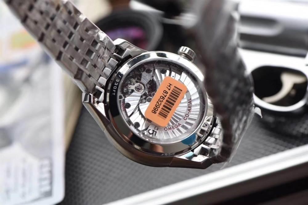 VS厂欧米茄碟飞蓝盘钢带表带431.10.41.21.03.001最新测评
