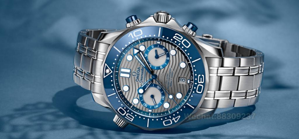 欧米茄海马系列300米潜水表欧米茄同轴至臻天文台计时腕表