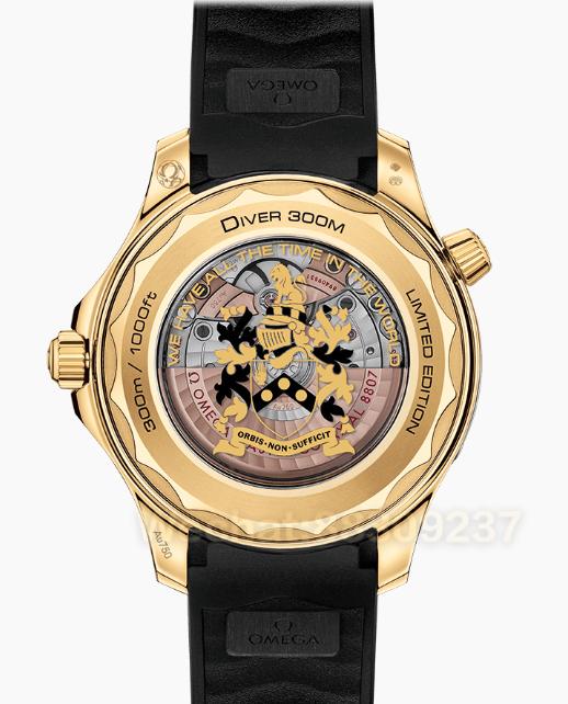 VS厂欧米茄海马300詹姆斯邦德007限量版黄金款新品发布!