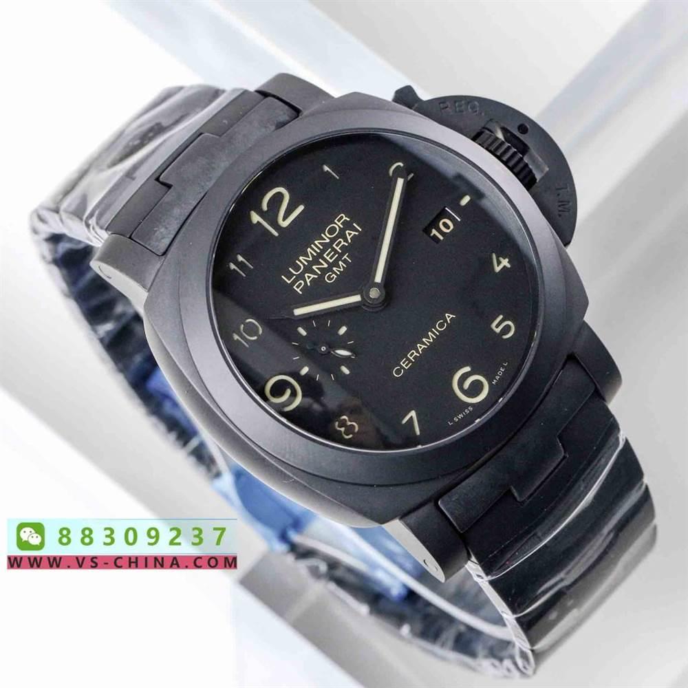 VS厂沛纳海438-VS沛纳海PAM438最新V2全陶瓷版P.9001机芯