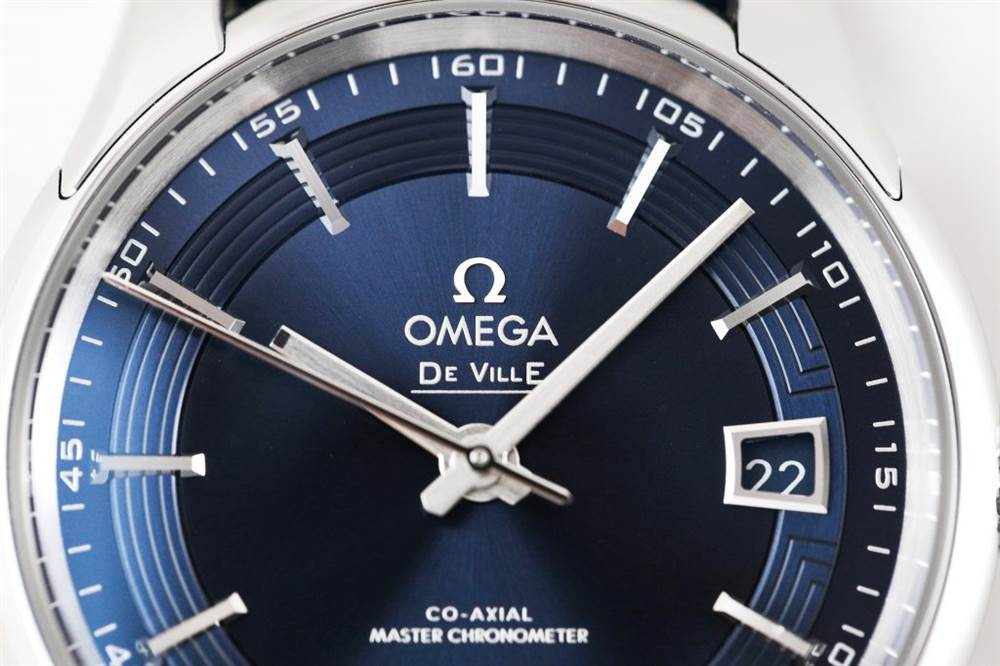 VS厂欧米茄明亮之蓝omega hourvision blue蓝色表盘复刻表
