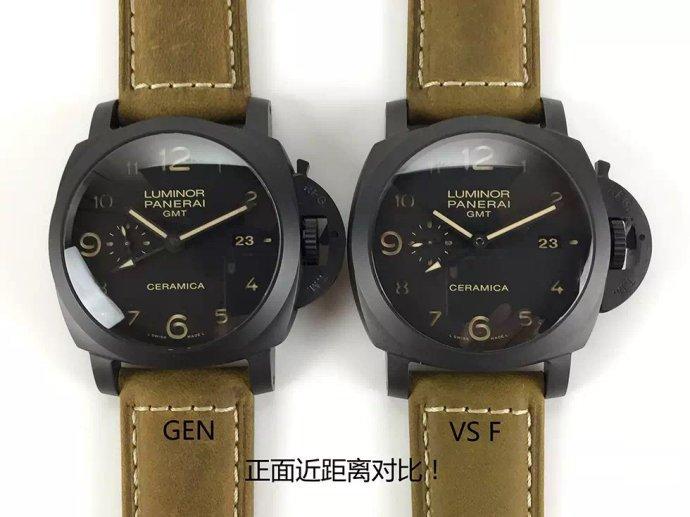 VS厂沛纳海PAM441「购买须知」对比正品及附图详细评测解说