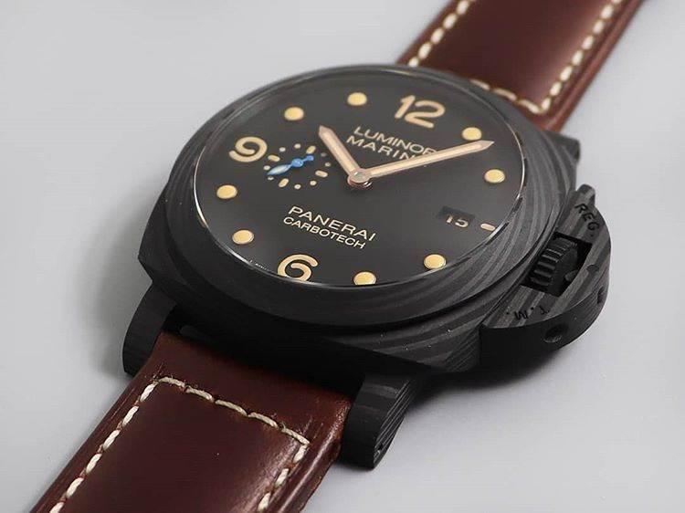 VS厂沛纳海PAM661「情怀灵魂兼具的碳纤维」复刻腕表