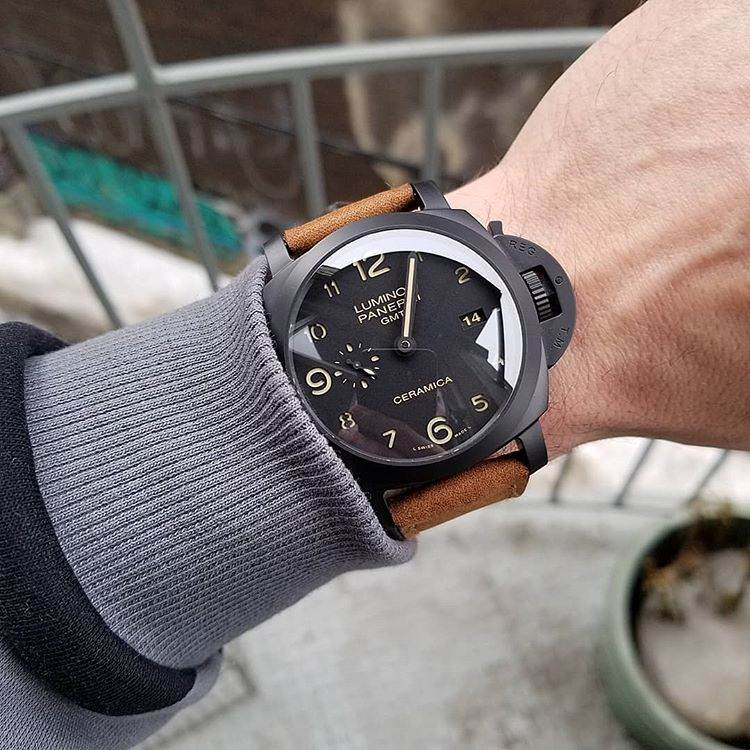 VS厂沛纳海PAM438「黑武士」V2升级版复刻腕表