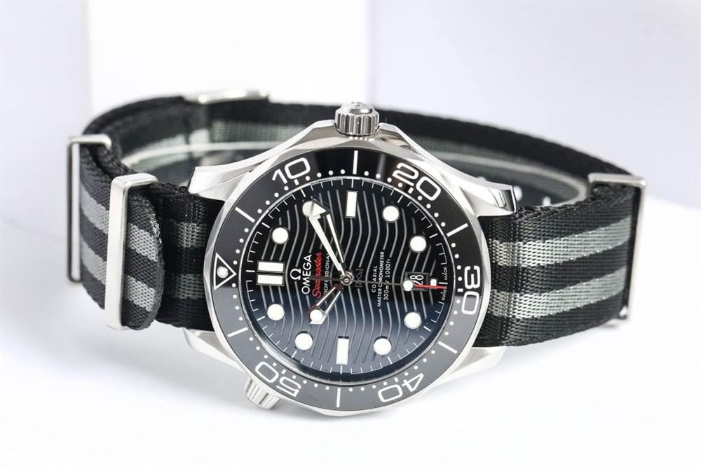 VS厂欧米茄海马300-欧米茄海马 210.30.42.20.01.001黑面布带款