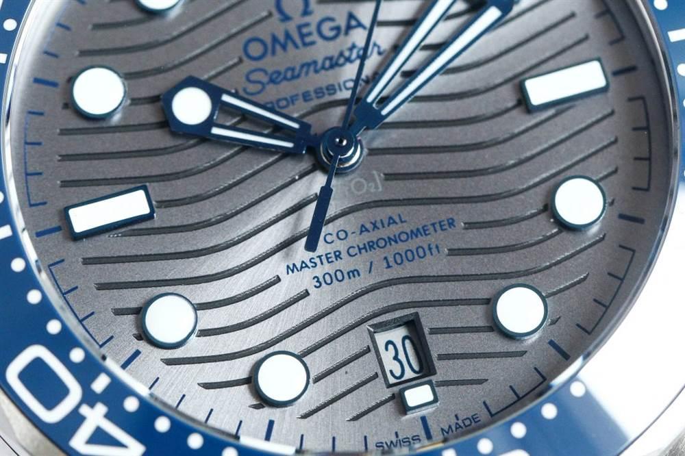 VS厂欧米茄海马300-欧米茄海马 210.30.42.20.06.001灰面胶带款