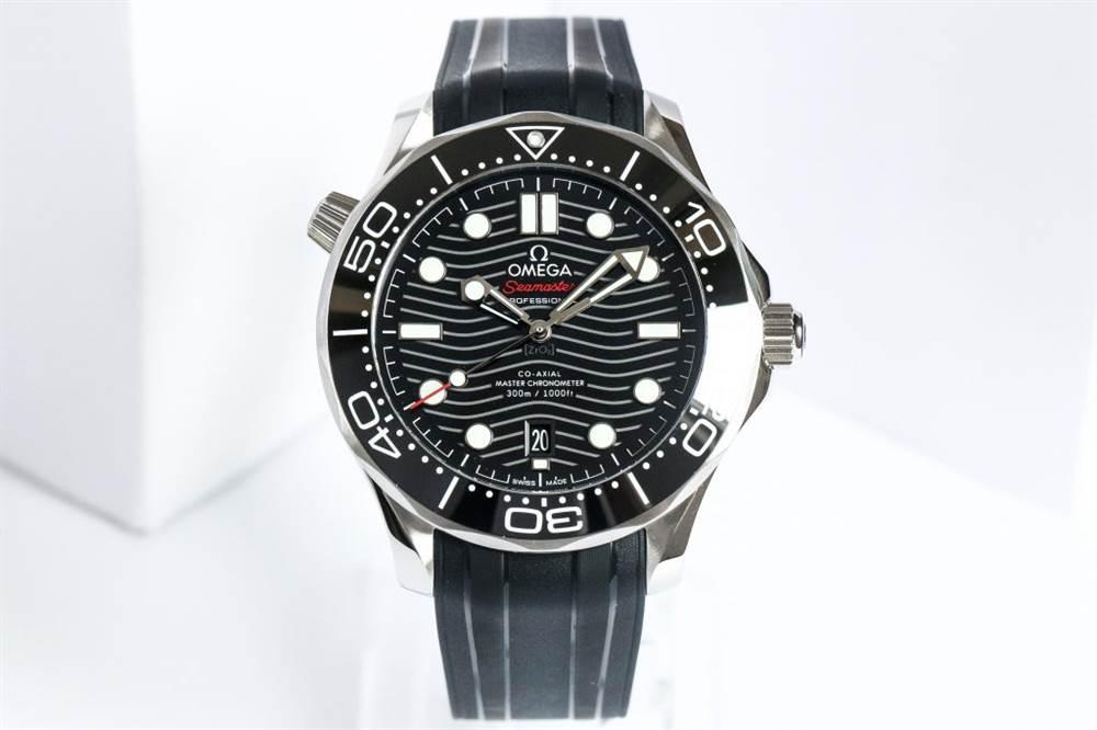VS厂欧米茄海马300-欧米茄海马 210.30.42.20.01.001黑面胶带款