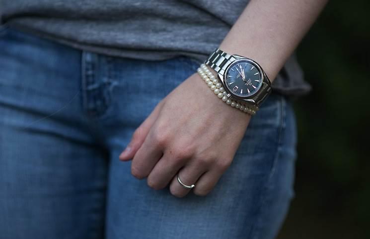 VS厂欧米茄海马150「高端」女士机械腕表
