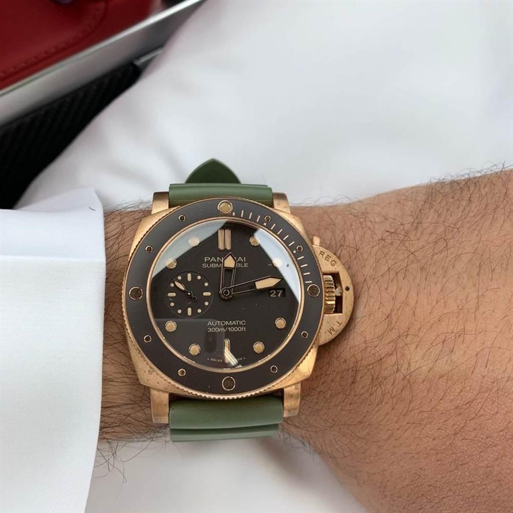 VS厂沛纳海PAM968「极力推荐」的VS厂青铜复刻腕表