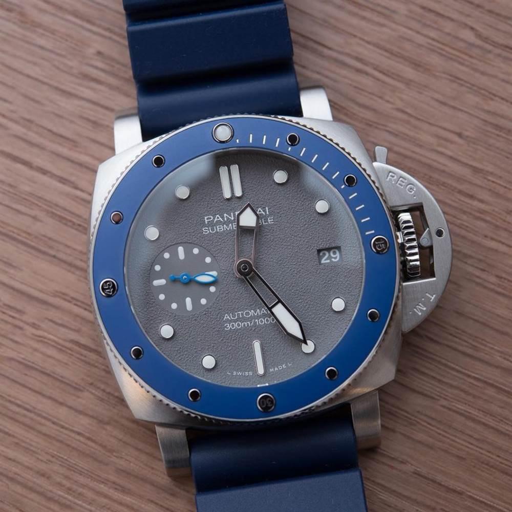VS厂沛纳海PAM959「蓝色小海王」潜行系列海军蓝复刻表
