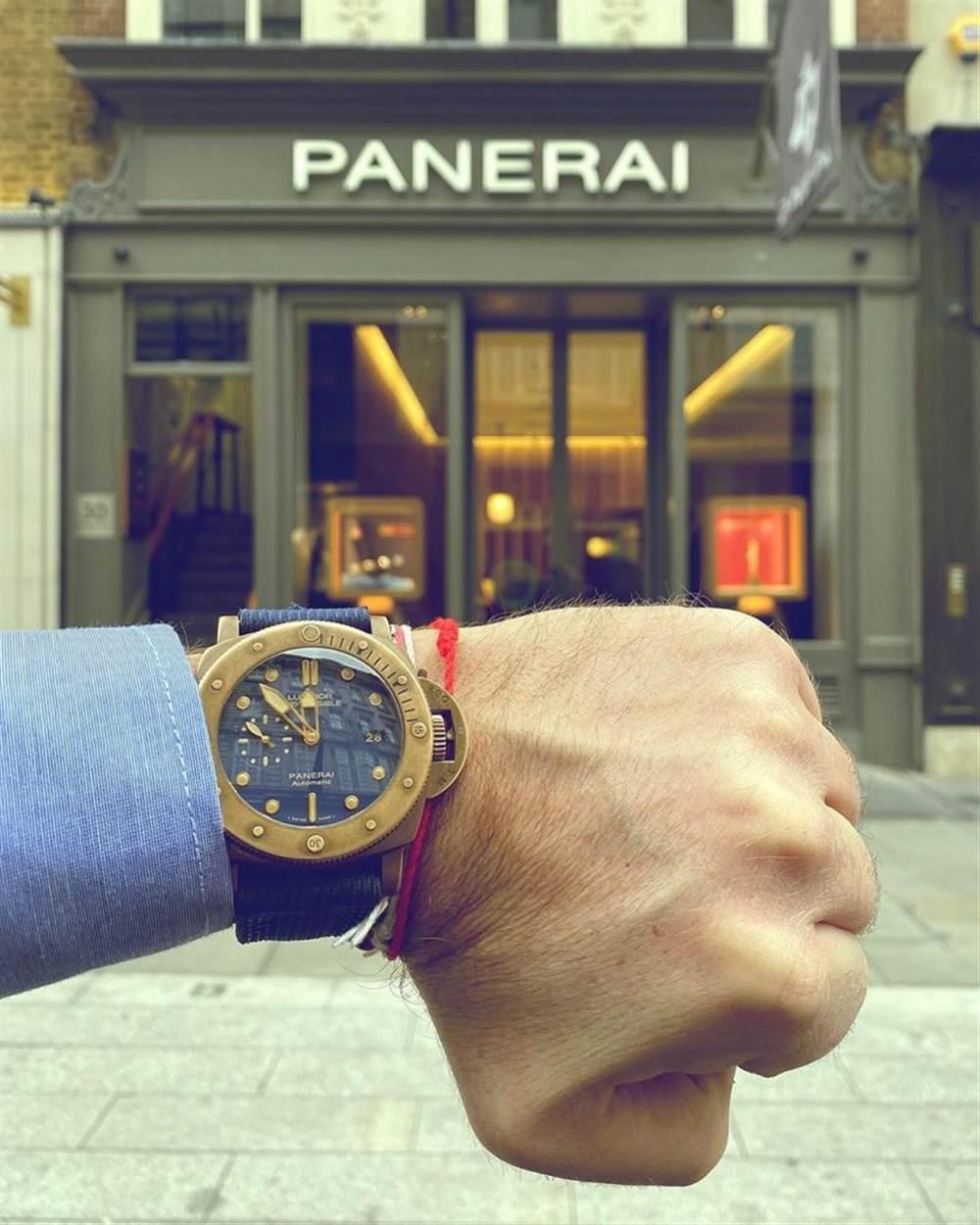 VS厂沛纳海PAM671「青铜复古」腕表的魅力