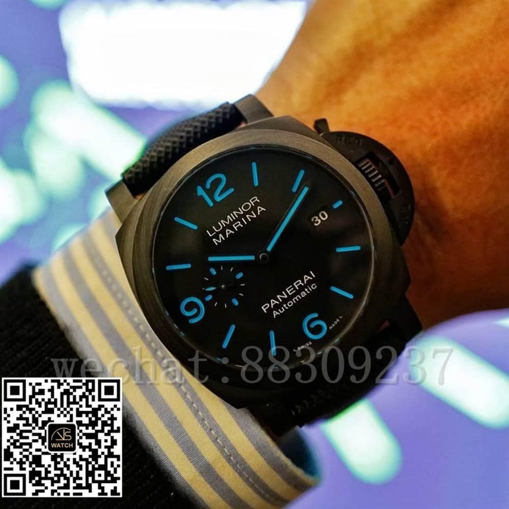 VS厂沛纳海PAM1661「蓝色指针时标」潜水腕表评测