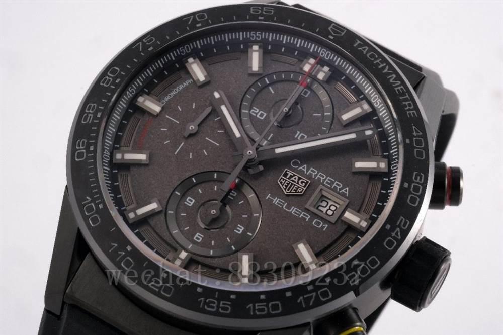 XF厂泰格豪雅卡莱拉「月球表面」Heuer 01 CLEP特别款评测