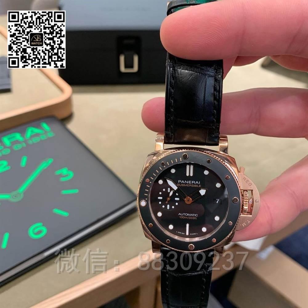 VS厂沛纳海PAM974「正装潜水手表」评测