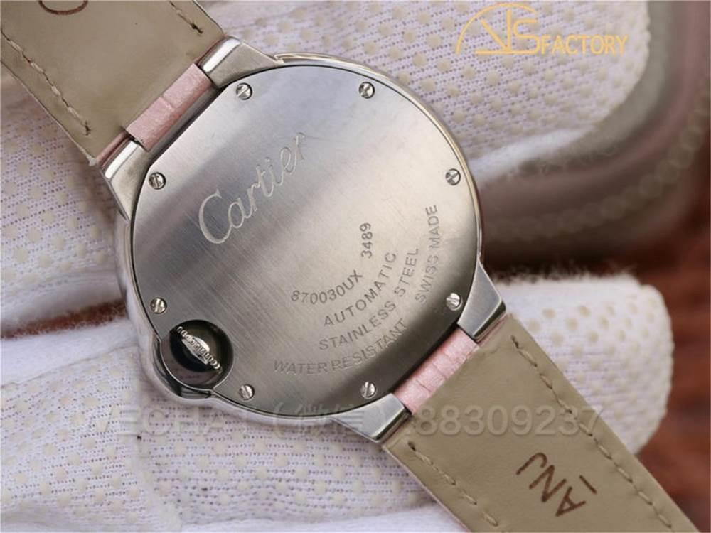 V6厂卡地亚蓝气球系列33mm「粉色表盘」W6920100腕表深度评测