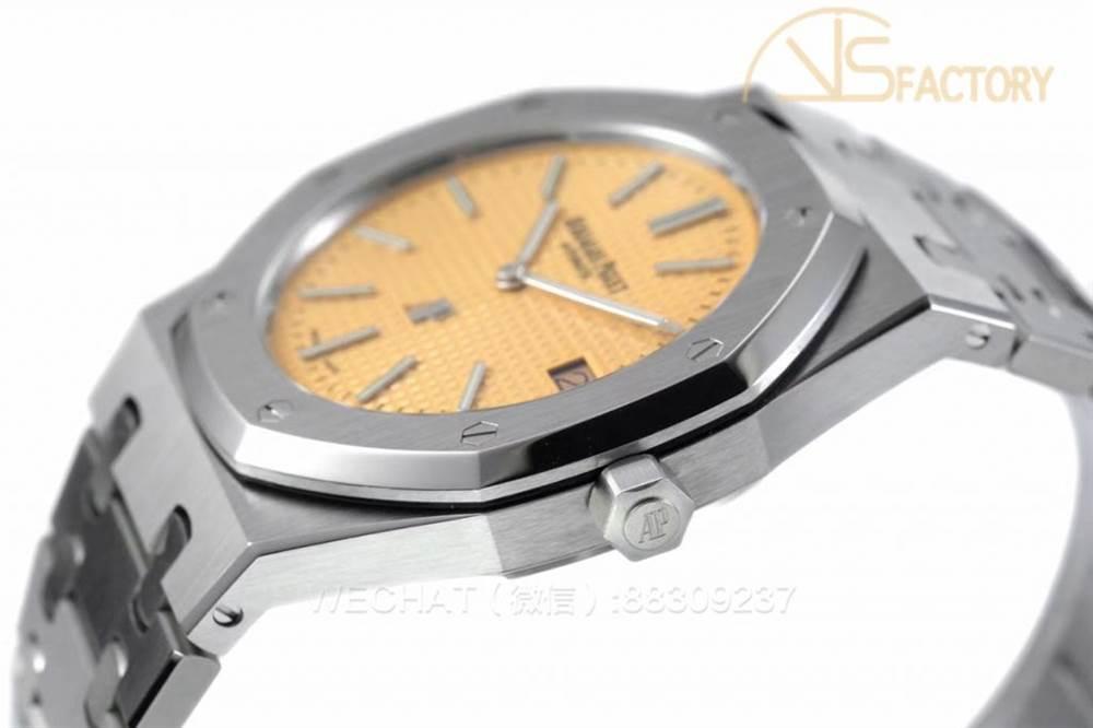 XF厂爱彼皇家橡树15202「香槟金面」超薄腕表评测