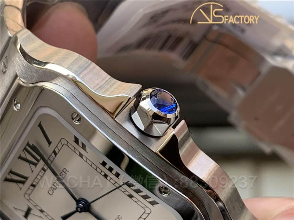 V6厂卡地亚山度士「Santos桑托斯」WSSA0009大尺寸腕表评测