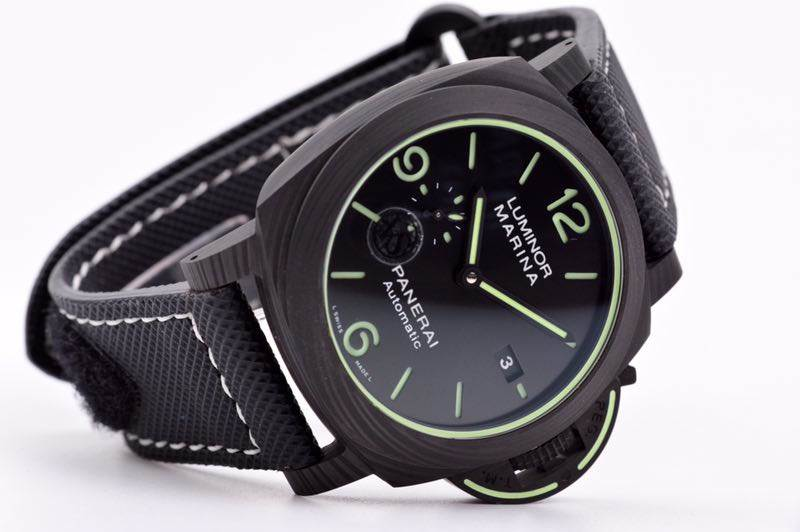 VS厂沛纳海1118「超级夜光」碳纤维腕表深度评测