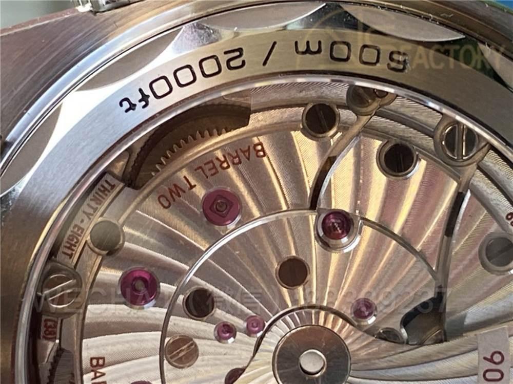 VS厂欧米茄海马600太极圈实拍点评