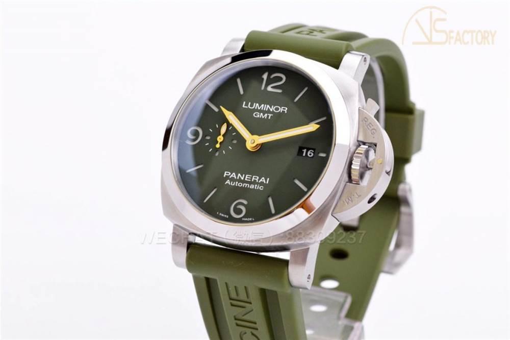 VS厂沛纳海1056金针绿表盘腕表评测