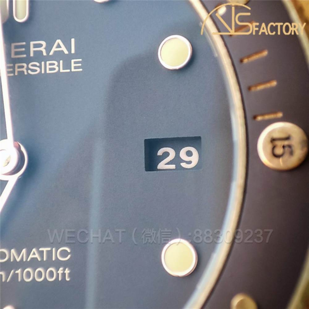 VS厂沛纳海青铜968实拍点评