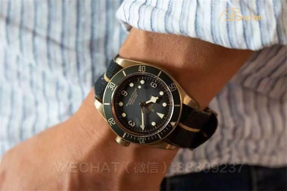 XF厂帝陀碧湾「石板灰」青铜腕表-贝克汉姆同款
