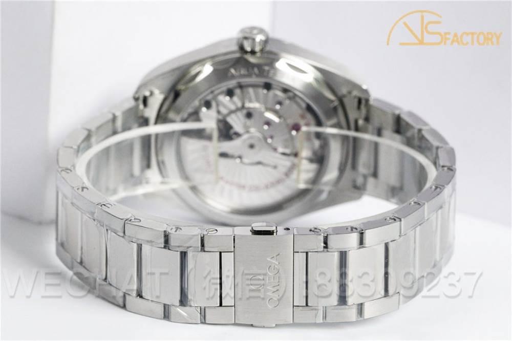 VS厂欧米茄海马150「柚木盘深蓝」腕表做工评测