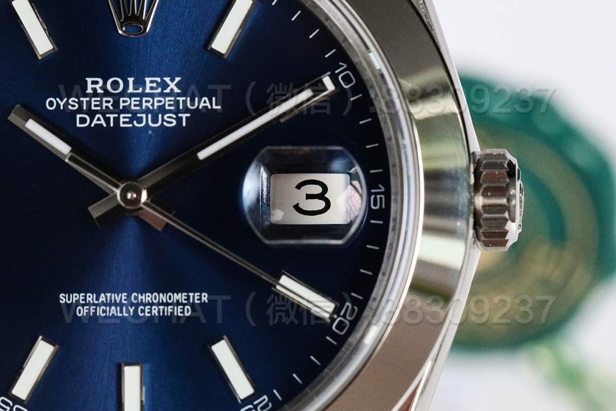 VS厂劳力士41MM日志型126330-0001蓝色盘面「3235机芯」