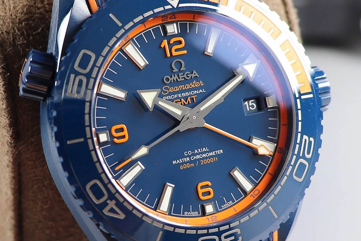 VS厂欧米茄碧海之蓝GMT复刻腕表做工细节评测-品鉴VS厂陶瓷材质腕表