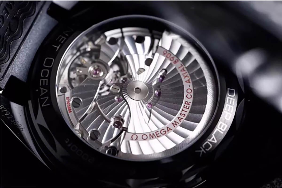VS厂欧米茄于海马系列深海之黑复刻腕表做工细节评测-品鉴VS厂深海之黑