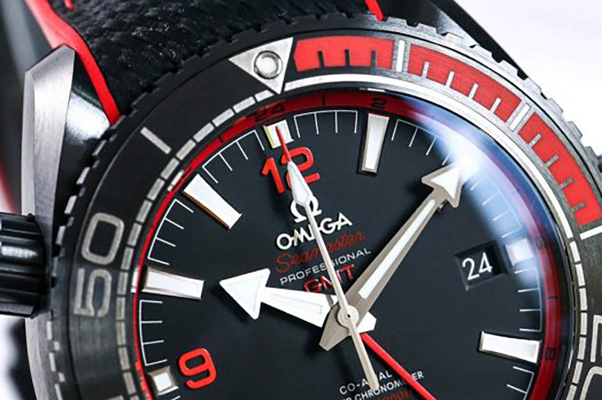VS厂欧米茄海马系列600米深海之黑「红色款」复刻腕表做工细节评测-品鉴顶级复刻