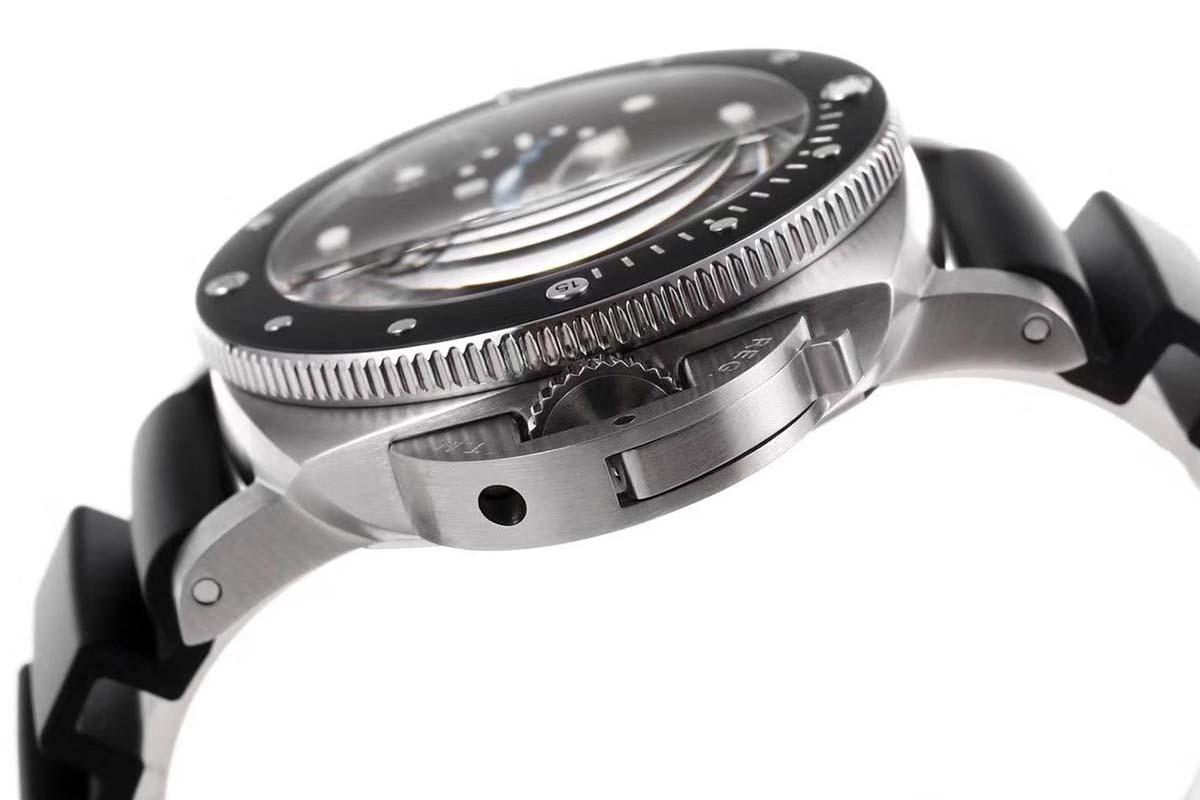 品鉴硬朗帅气的设计风格的沛纳海潜行系列PAM00683腕表-VS厂复刻还原版本如何