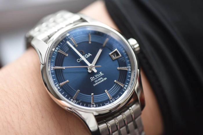 VS厂欧米茄蝶飞明亮之蓝会不会一眼假-VS复刻手表质量怎么样